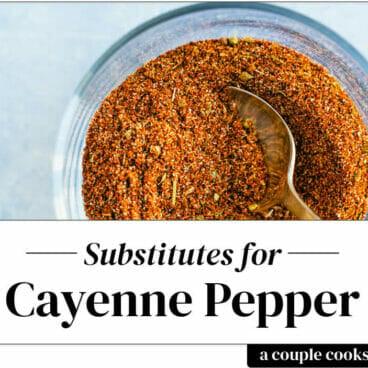 Cayenne pepper substitute