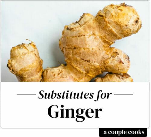 Ginger substitute