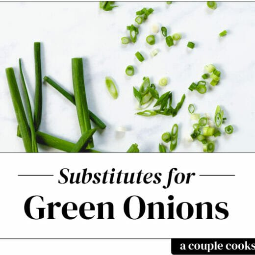 Green onion substitute | scallion sustitute