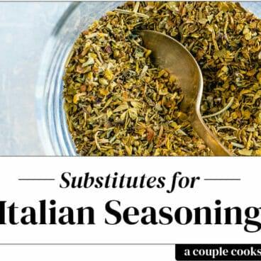 Italian seasoning substitute
