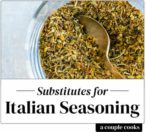 Italian seasoning substitute