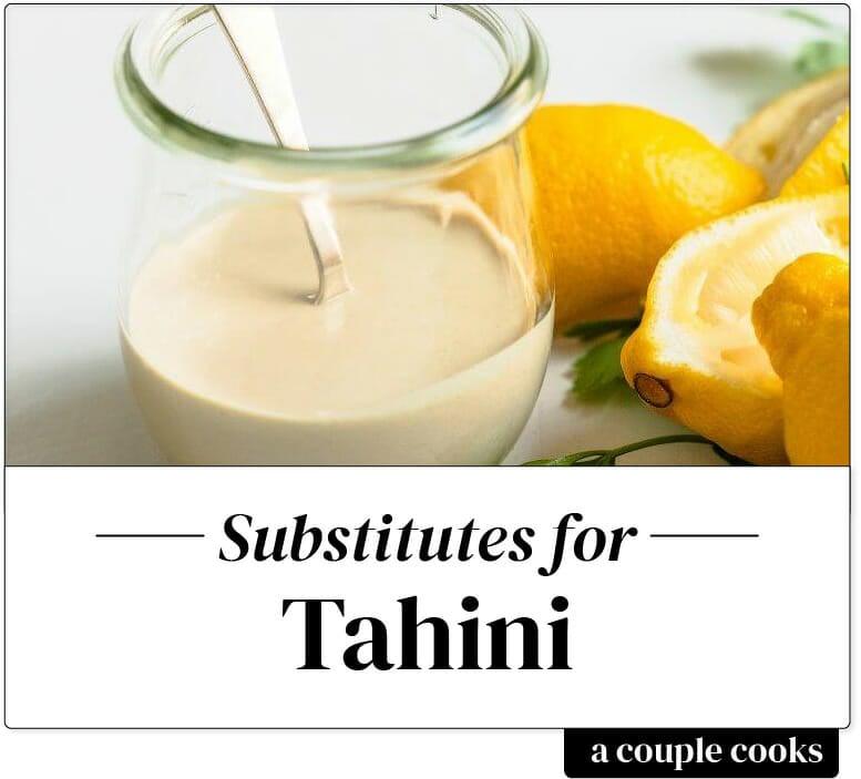 Tahini substitute