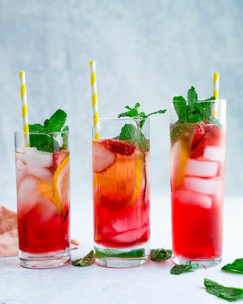 Summer vodka drinks, vodka cocktails summer
