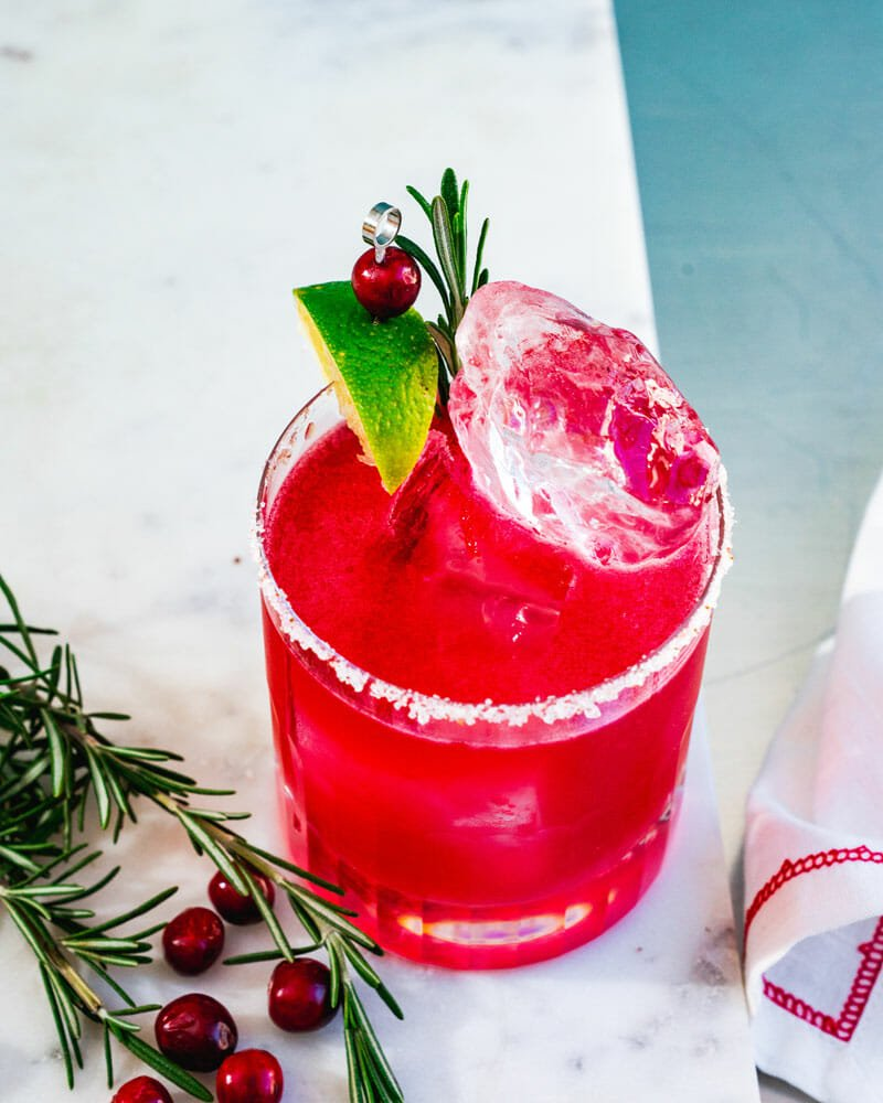 Christmas margarita recipe