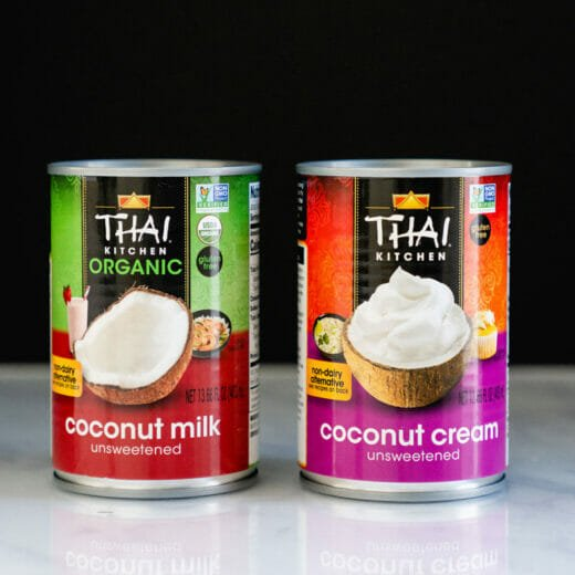 Coconut Cream vs Coconut Milk