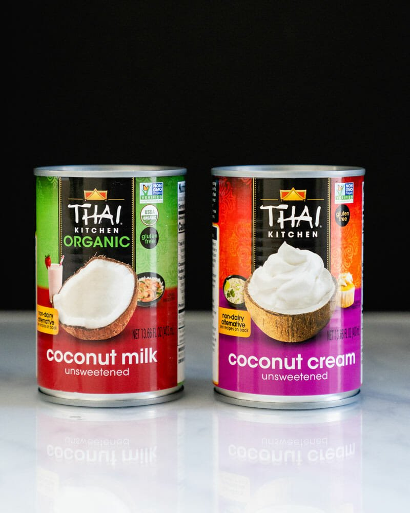 Coconut Cream vs Coconut Milk