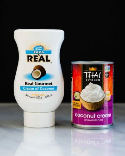 Cream of Coconut vs Coconut Cream