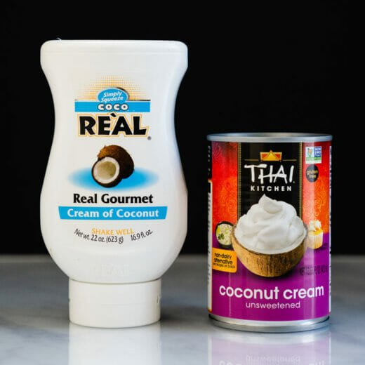 Cream of Coconut vs Coconut Cream