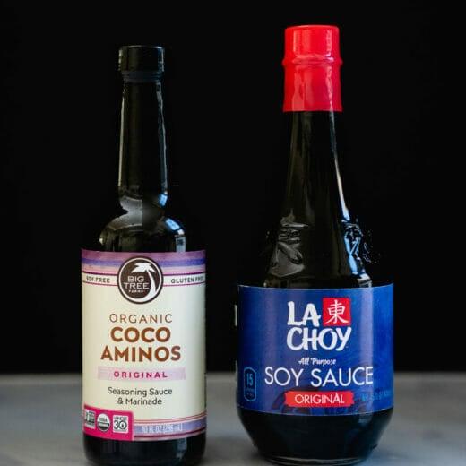 Coconut Aminos vs Soy Sauce