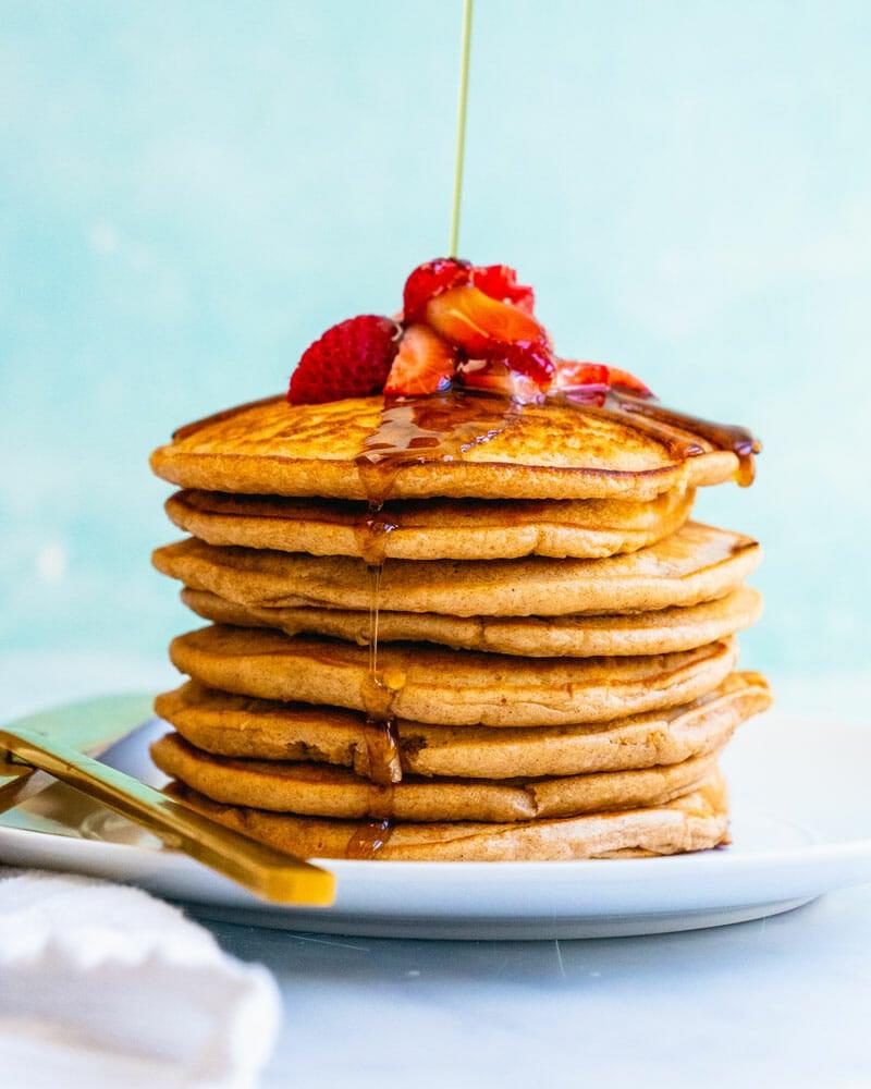 Pancake recipe without eggs