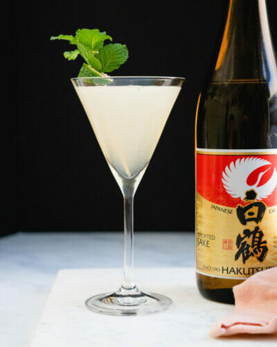 Sake cocktail
