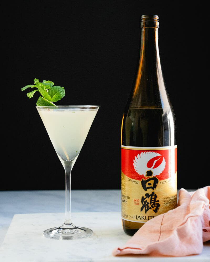 Sake cocktail: the Southside