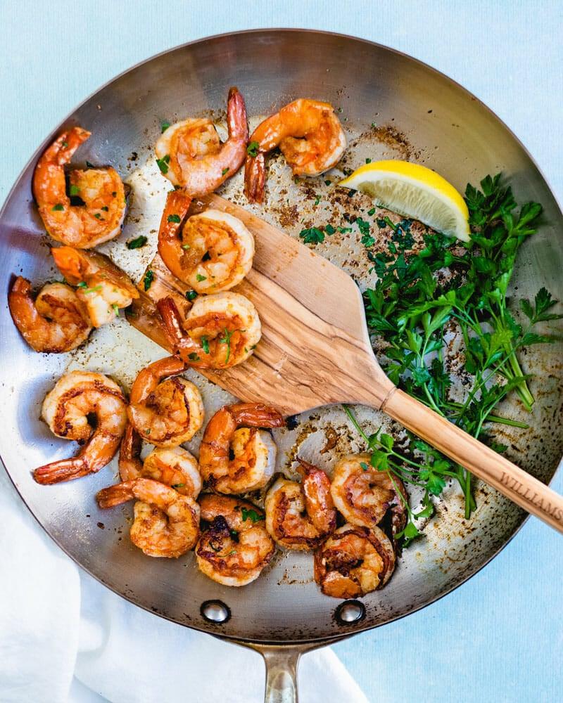 How to saute shrimp