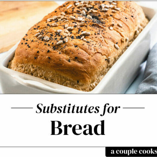 Bread substitute