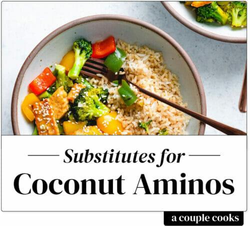 Coconut aminos substitute
