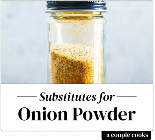 Onion powder substitute