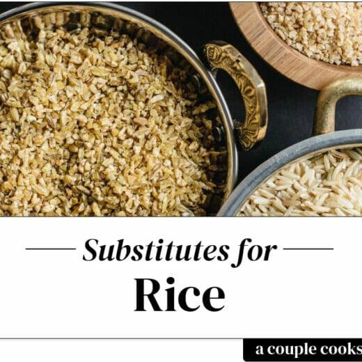 Rice substitute