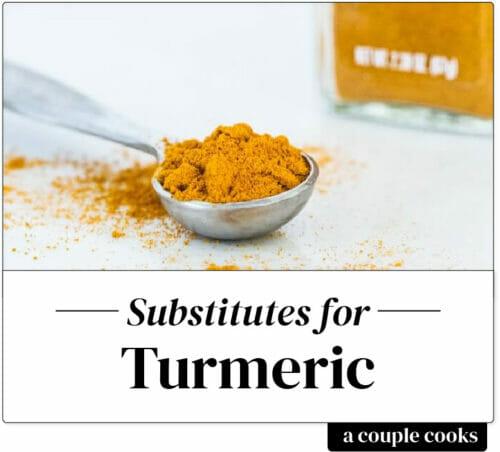 Turmeric substitute