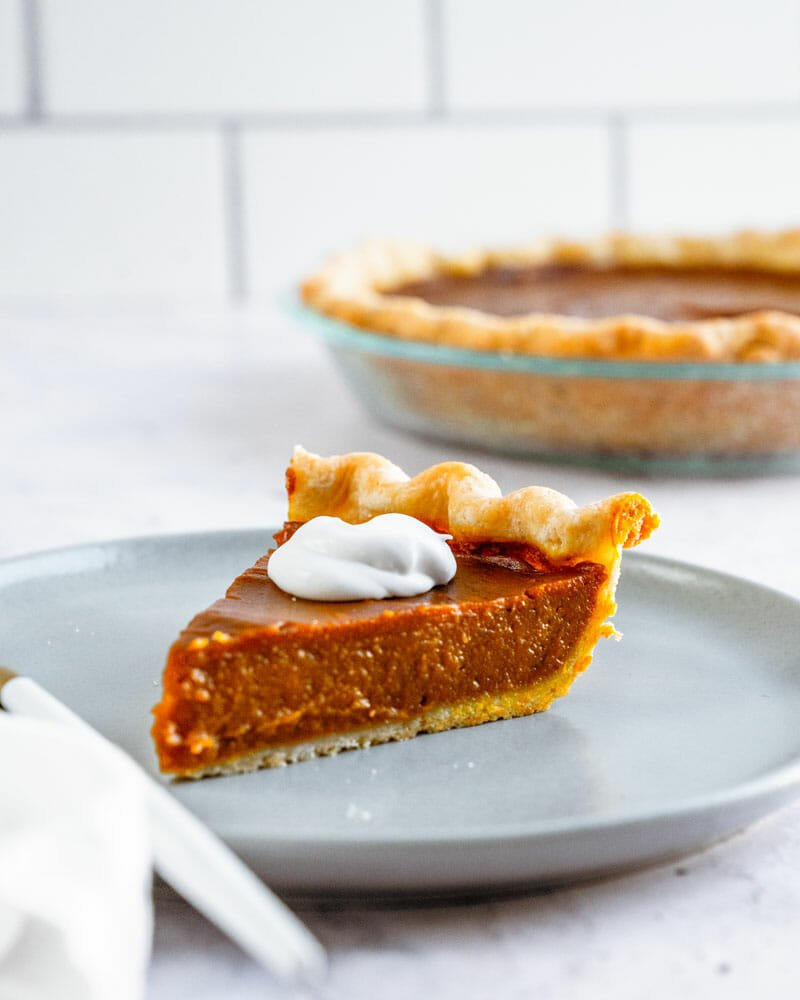 Incredible Vegan Pumpkin Pie