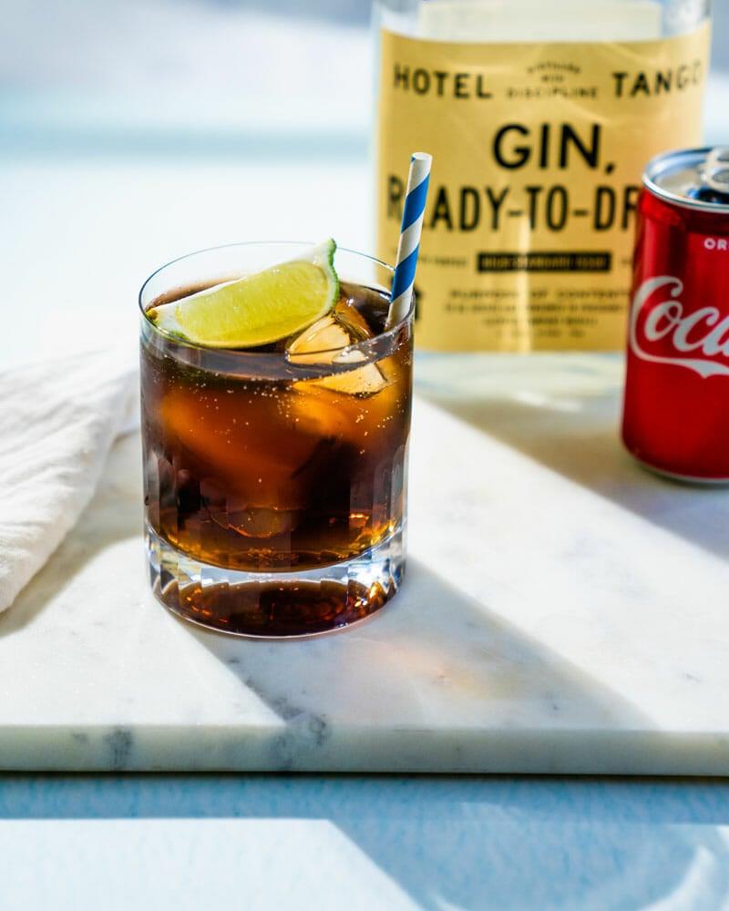 Gin and coke