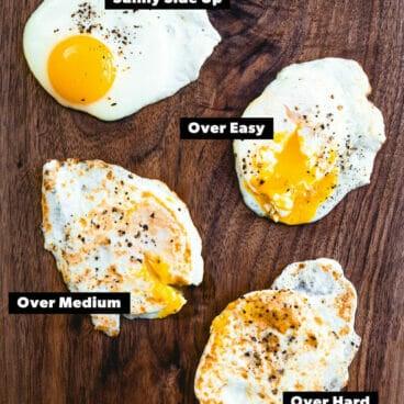 How to make a fried egg