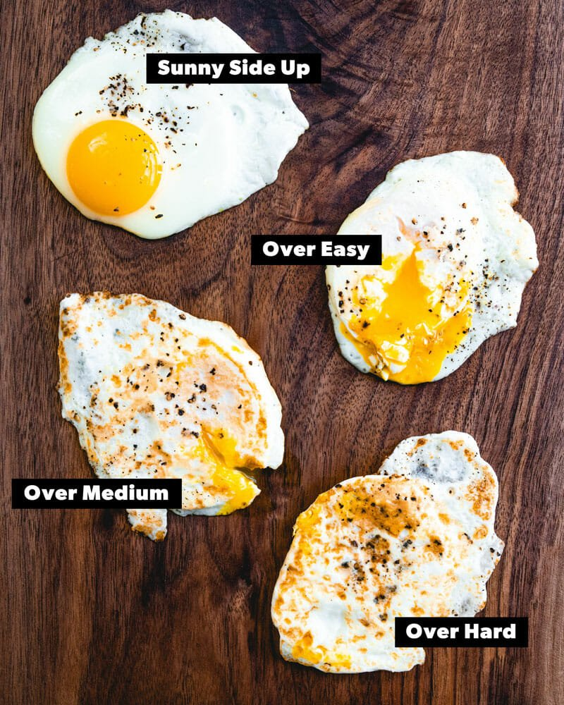 How to Fry an Egg (7 Ways!)