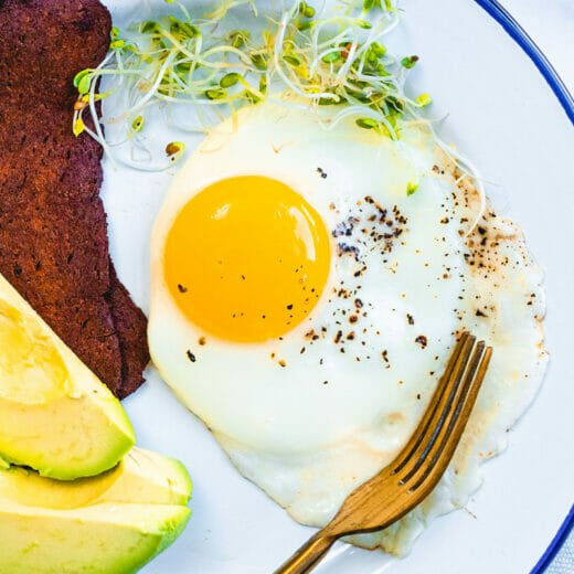Sunny side up eggs