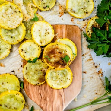 Roasted yellow squash