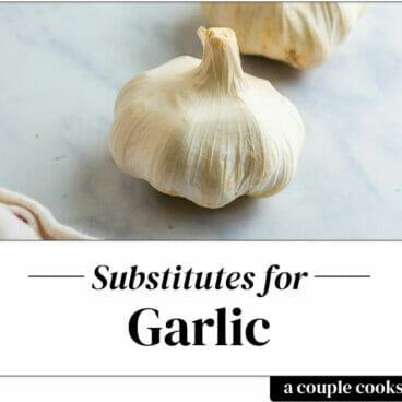 Garlic substitute