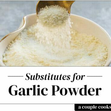 Garlic powder substitute