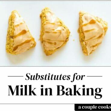 Substitute for Milk in Baking