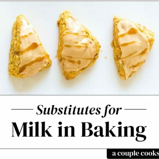 Substitute for Milk in Baking