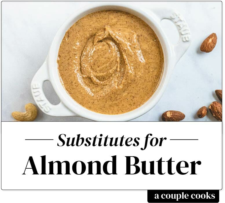 Almond butter substitute
