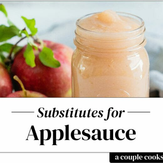Applesauce substitute