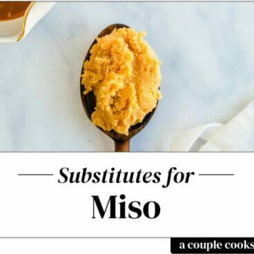 Miso substitute