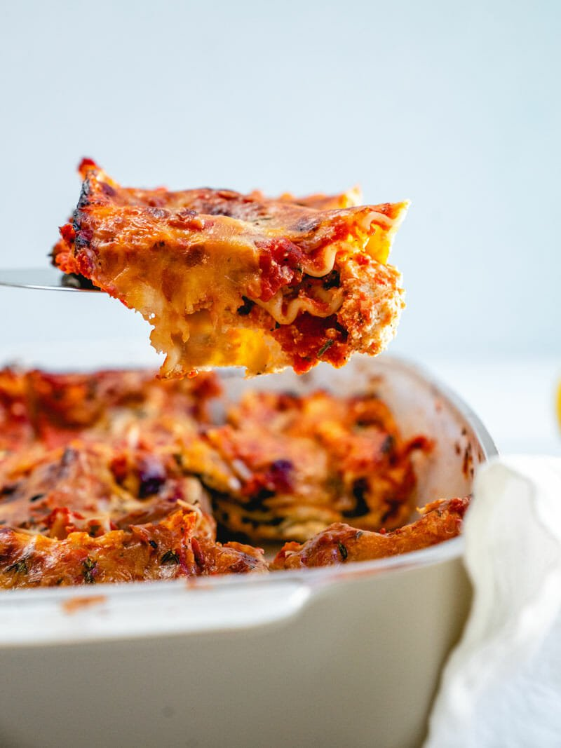 Lasagna with ricotta