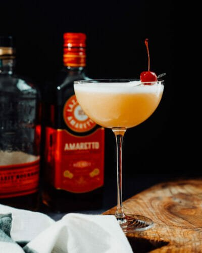 Amaretto whiskey sour
