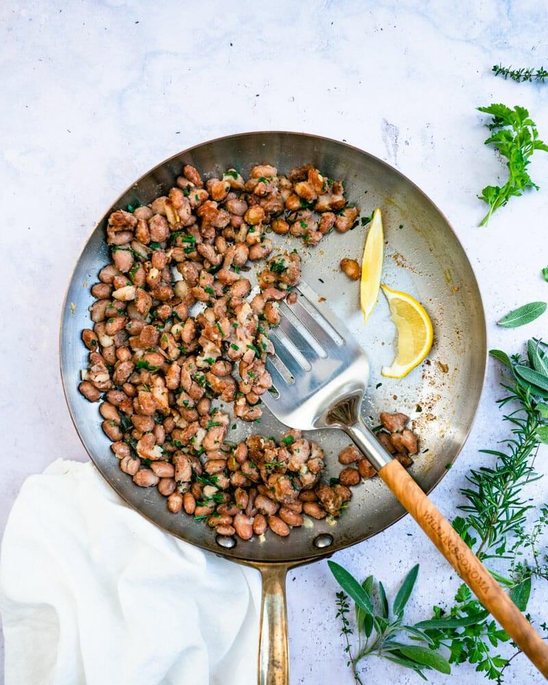 Borlotti beans recipe