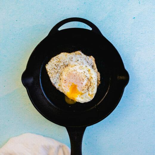 Over easy eggs