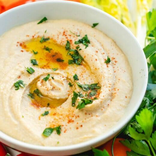 Hummus without tahini