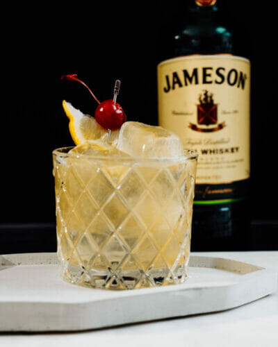 Jameson whiskey sour