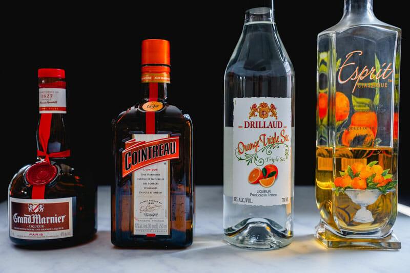 Orange liqueur brands | orange flavored liqueur