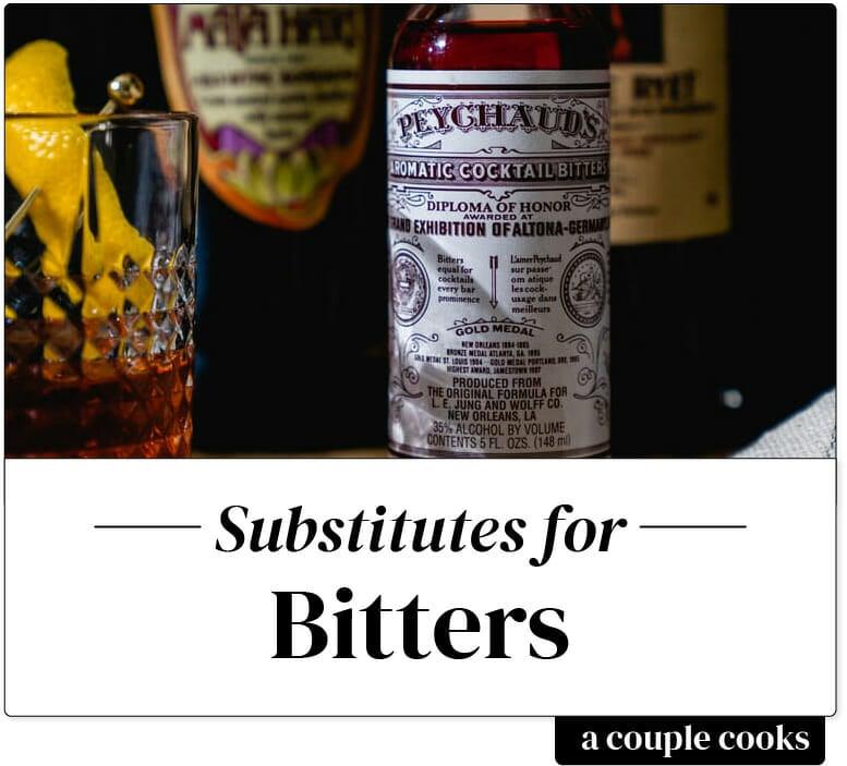 Bitters substitute