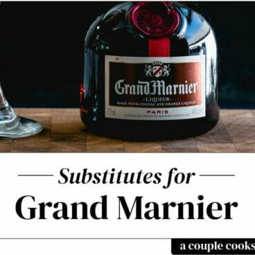 Grand Marnier Substitute