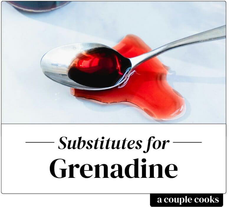 Grenadine substitute