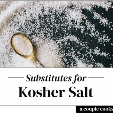 Kosher salt substitute
