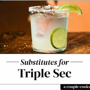Triple Sec substitute