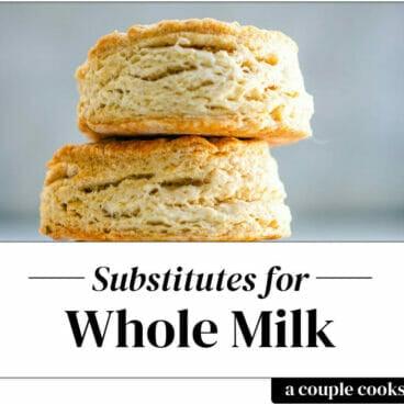 Whole milk substitute