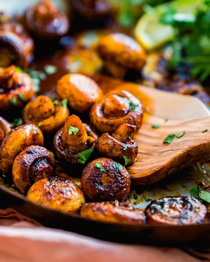 White button mushroom recipes