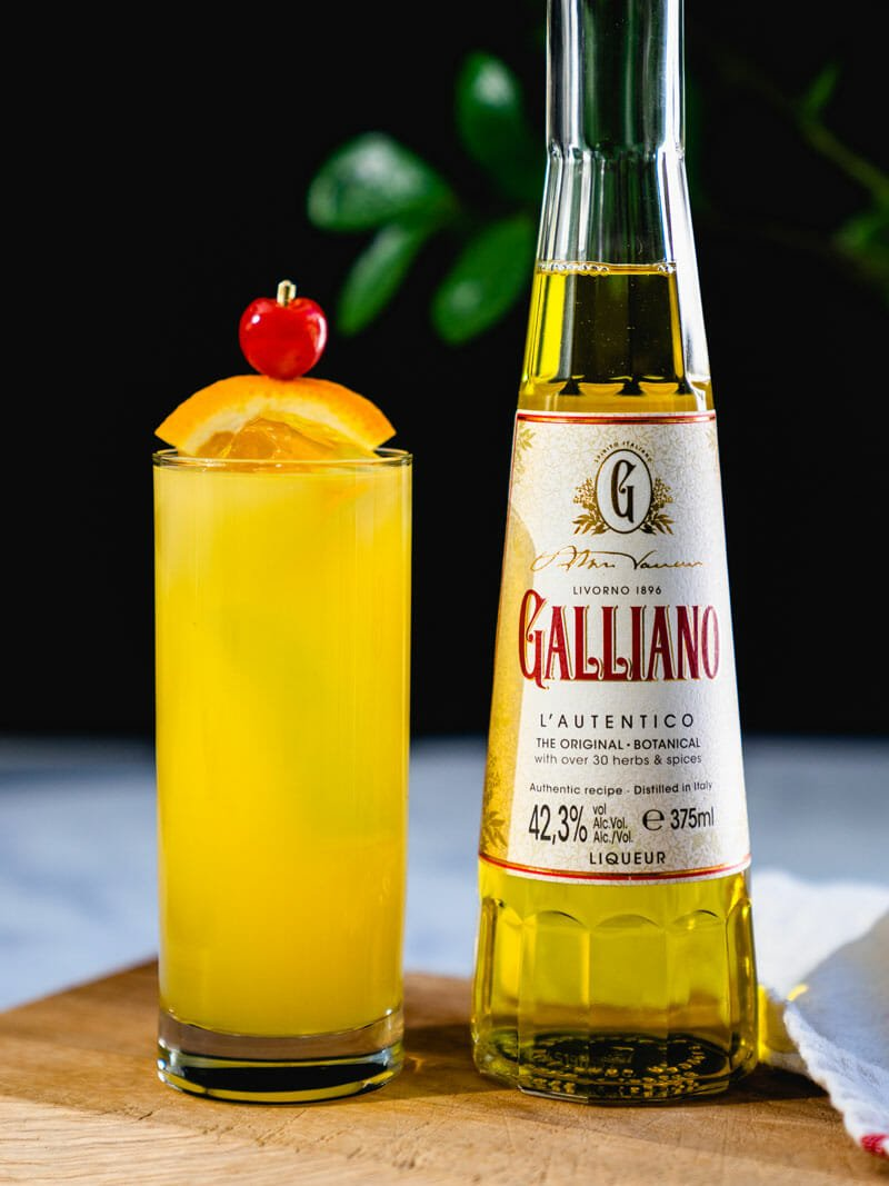 Harvey Wallbanger drink
